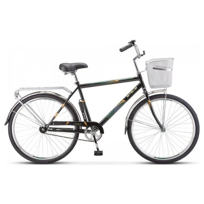 Велосипед Stels Navigator 200 Gent 26 Z010 (2020) 19 черный (С КОРЗИНОЙ)