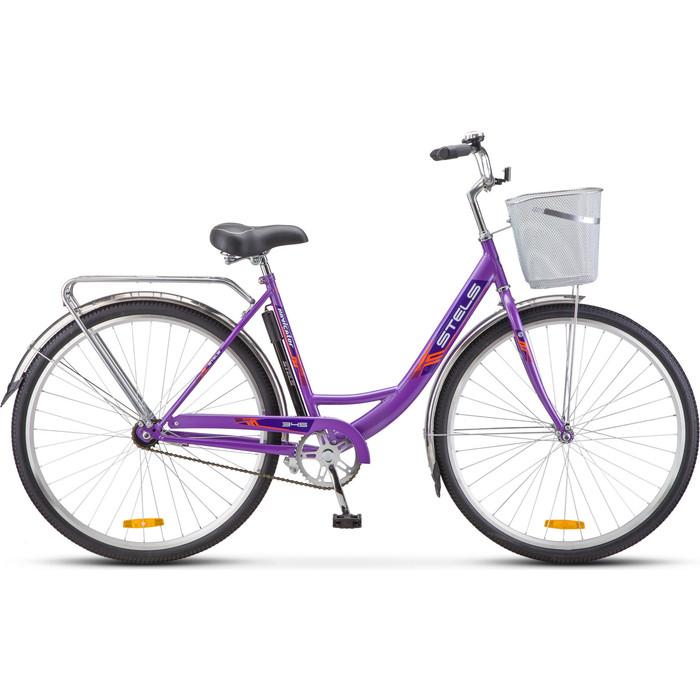 Велосипед Stels Navigator-345 28 Z010 20 Фиолетовый
