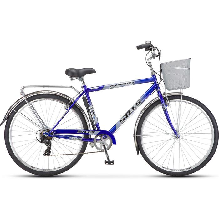 велосипед stels navigator 340 28 z010 20 черный Велосипед Stels Navigator-350 Gent 28 Z010 20 Синий