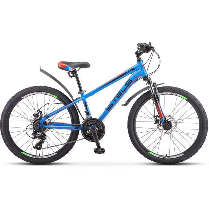 Велосипед Stels Navigator 400 MD 24 F010 (2019) 12 синий/красный велосипед stels navigator 670 md 2015