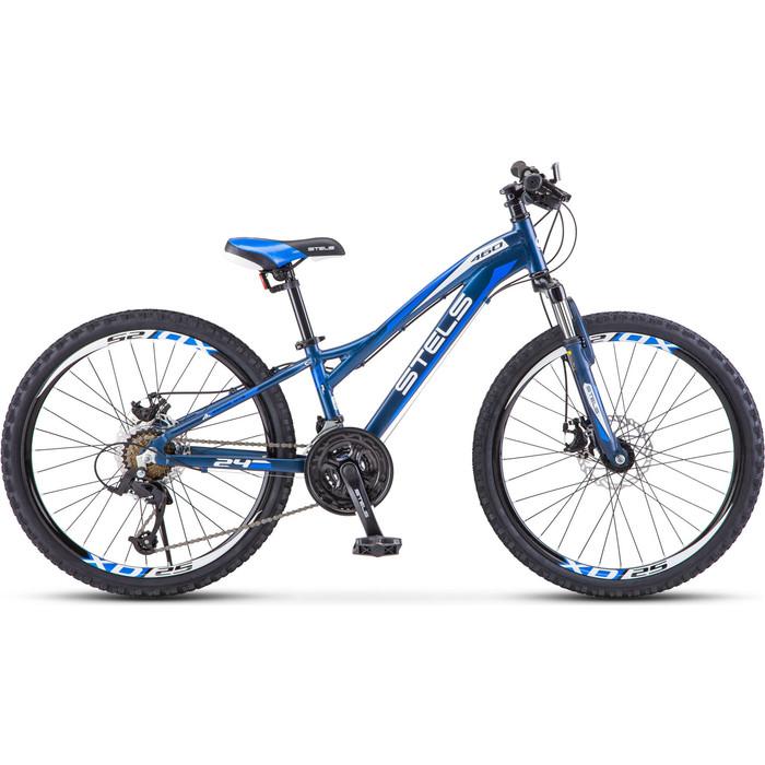 Велосипед Stels Navigator 460 MD 24 K010 (2020) 11 черный/синий велосипед stels navigator 670 md 2015