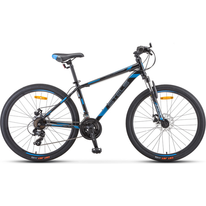Велосипед Stels Navigator 500 MD 26 F010 (2019) 18 серый/синий велосипед stels navigator 670 md 2015