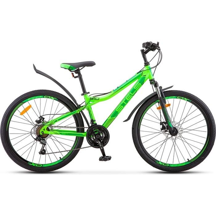 велосипед stels navigator 620 md 26 v010 19 тёмно синий Велосипед Stels Navigator-510 MD 26 V010 14 Неоновый-зелёный