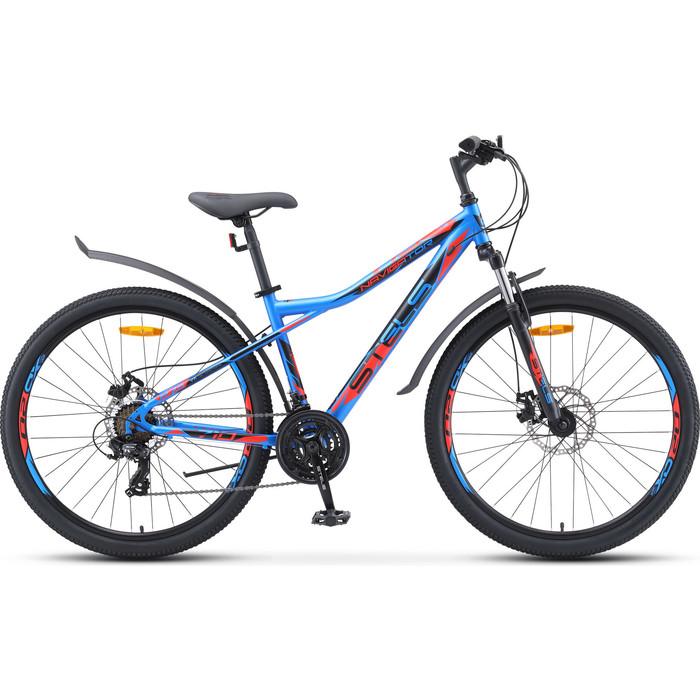 Велосипед Stels Navigator-710 MD 27.5 V020 16 Синий/чёрный/красный