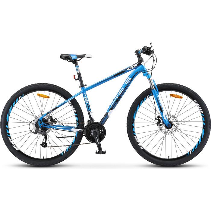 велосипед stels navigator 620 md 26 v010 19 тёмно синий Велосипед Stels Navigator-910 MD 29 V010 18.5 Синий/чёрный