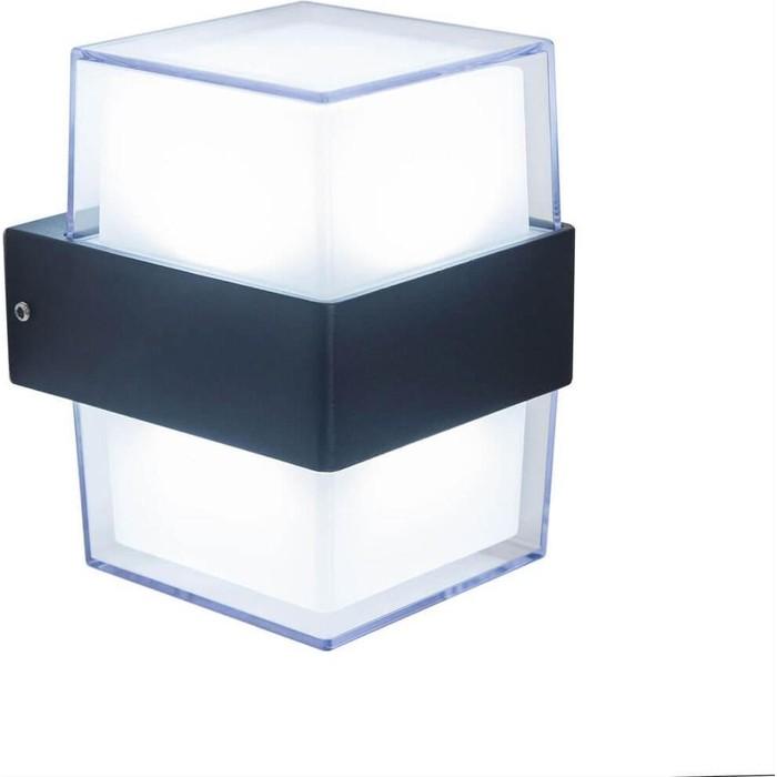 Уличный настенный светодиодный светильник Citilux CLU0009K уличный настенный светильник светодиодный citilux clu0007