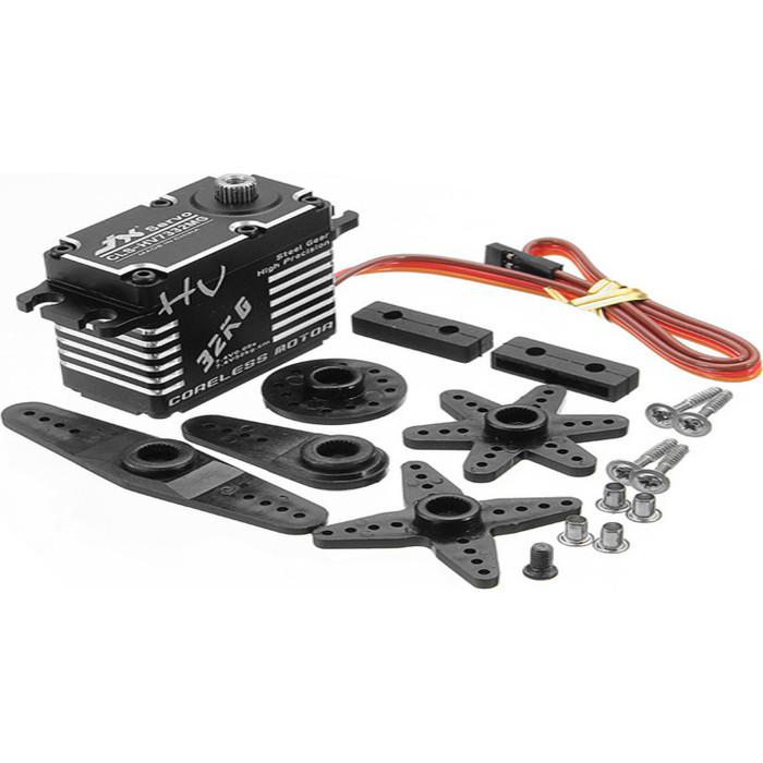 Сервомашинка JX Servo стандартная цифровая с металлическими шестернями - JX-CLS-HV7332MG