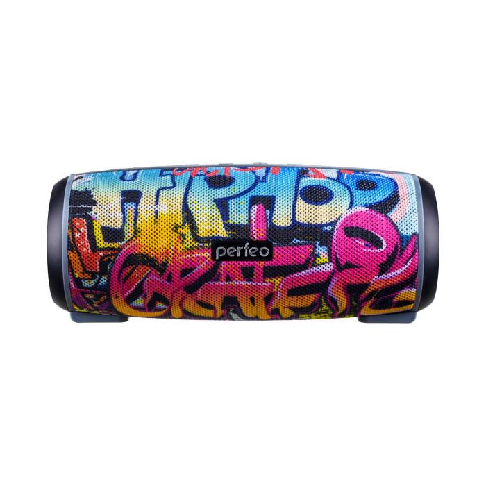Портативная колонка Perfeo HIP HOP FM граффити