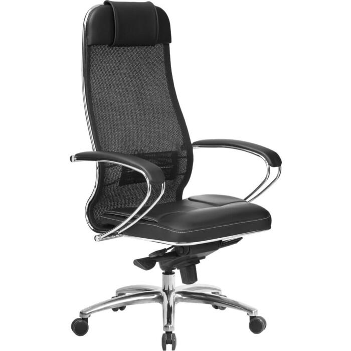 Кресло Метта Samurai SL-1.04 черный плюс