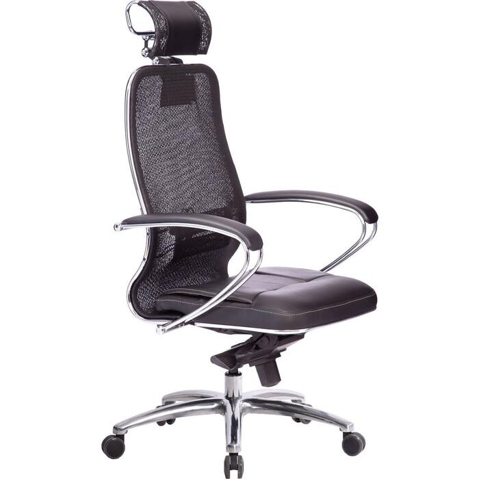 Кресло Метта Samurai SL-2.04 черный плюс