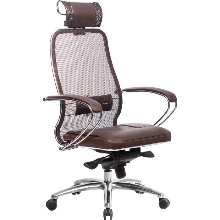 Кресло Метта Samurai SL-2.04 темно-коричневый