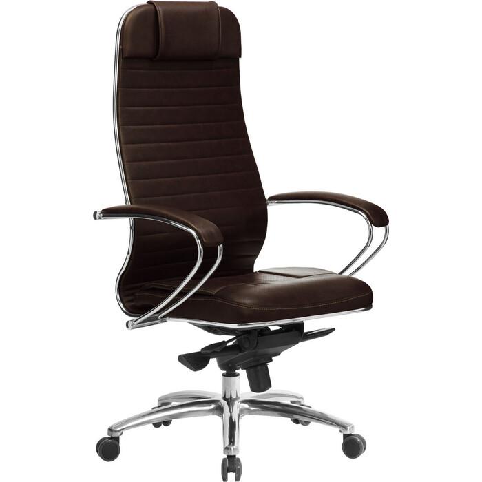 Кресло Метта Samurai KL-1.04 темно-коричневый
