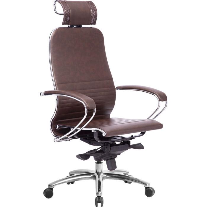 Кресло Метта Samurai K-2.04 темно-бордовый