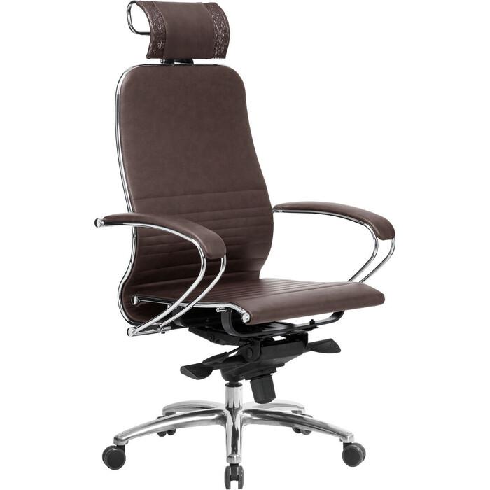 Кресло Метта Samurai K-2.04 темно-коричневый