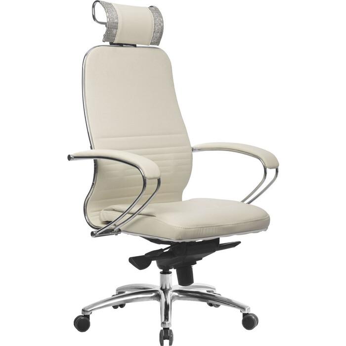 Кресло Метта Samurai KL-2.04 белый лебедь