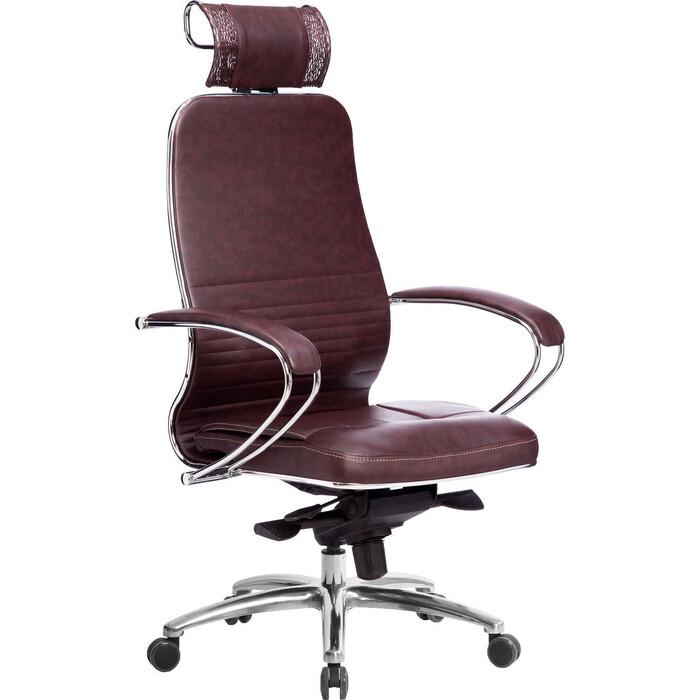 Кресло Метта Samurai KL-2.04 темно-бордовый