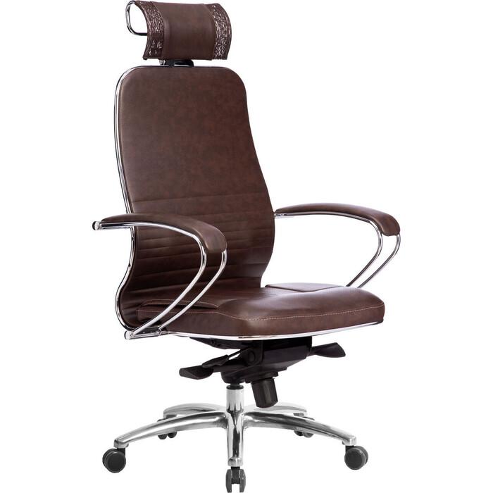 Кресло Метта Samurai KL-2.04 темно-коричневый