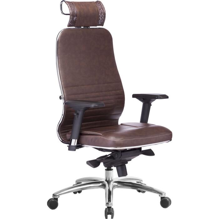 Кресло Метта Samurai KL-3.03 темно-коричневый