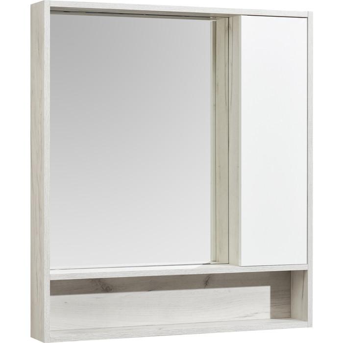 Зеркальный шкаф Акватон Флай 80 дуб крафт (1A237702FAX10)