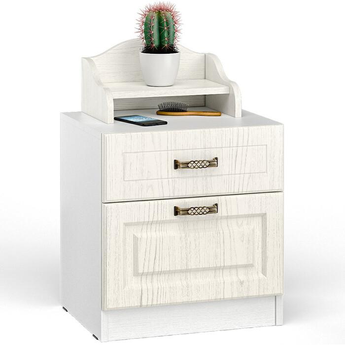 Комплект мебели Моби Ливерпуль 08.146 + 10.117 ясень ваниль/белый
