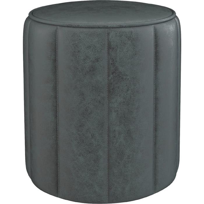 Пуф Нижегородмебель и К Вояж ткань ТП 165 Легион грей каменный серый