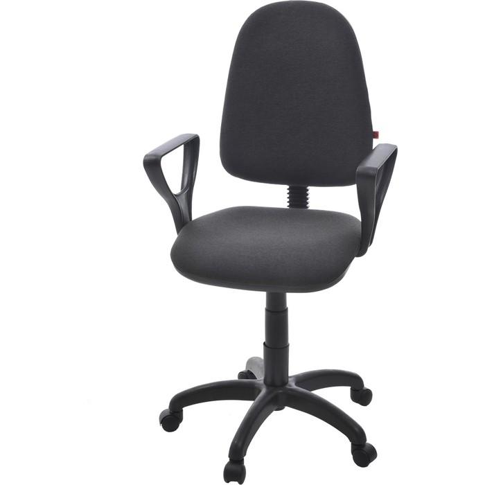 цена Кресло Фабрикант Престиж+ ткань мебельная ТК-2 темно-серый PL 600 онлайн в 2017 году