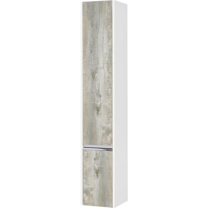 Шкаф-пенал Акватон Капри левый, бетон пайн (1A230503KPDAL)