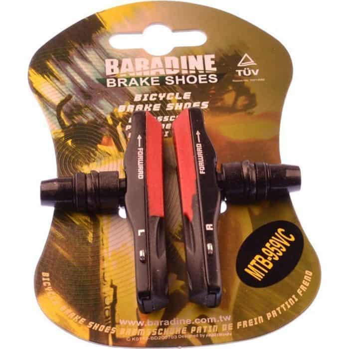 Колодки BARADINE 959VC, МТВ, 72 мм, картриджные велошлем giro hex мтв m 55 59 см матовый черный gi7055293
