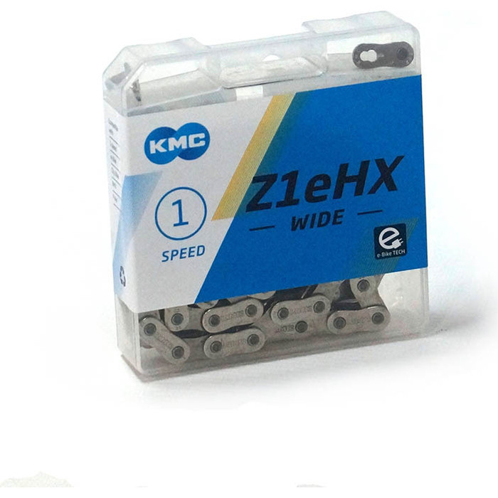 Цепь для велосипеда KMC Z1eHX 1/2x1/8x112L FOR 1-SPD, односкоростная, бмх, инд.упаковка