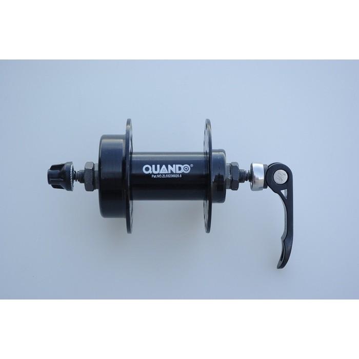 Втулка QUANDO передняя KT-M65F Disc 36H*14G 3/8*100W*108L с эсцентриком 109mm