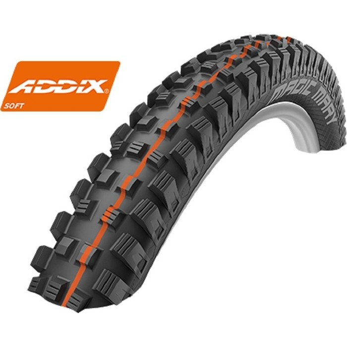 Покрышка SCHWALBE MAGIC MARY SuperG, TL-Easy, Folding 60-559 B/B-SK HS447 Addix Soft 67EPI EK