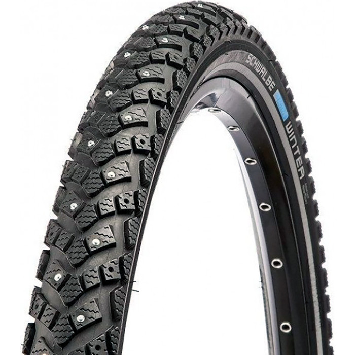 Покрышка SCHWALBE WINTER K-Guard.47-559 26х1.75 B/B+RT HS396 (100 Studs) WiC 50EPI