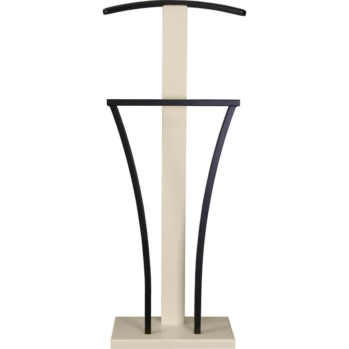 Вешалка костюмная Мебелик Галант 357 черный/слоновая кость