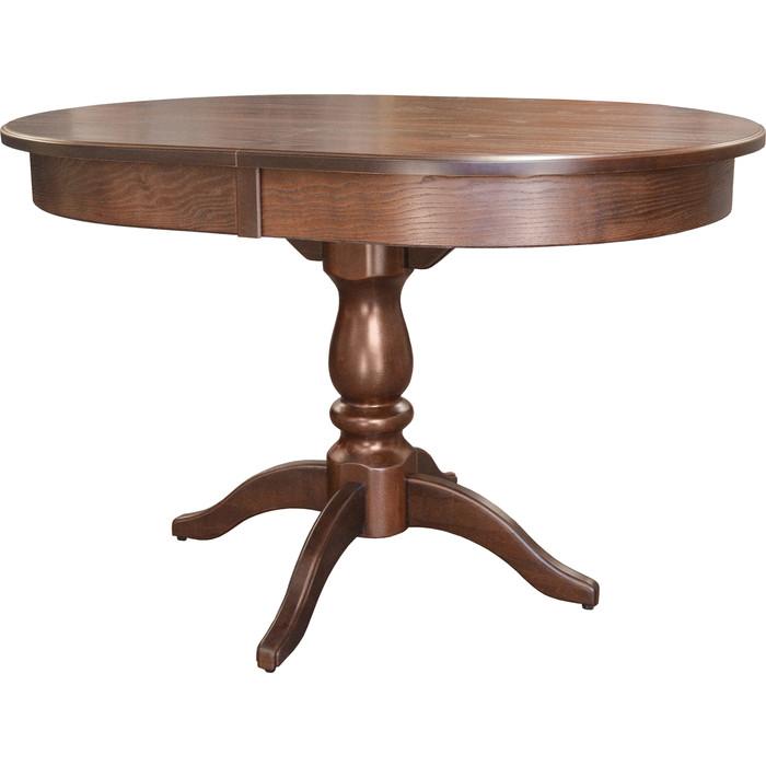 Стол обеденный Мебелик Тарун 4 орех 120/160x84