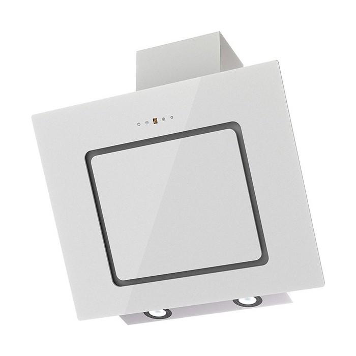 Вытяжка Krona KIRSA 600 white/white glass sensor