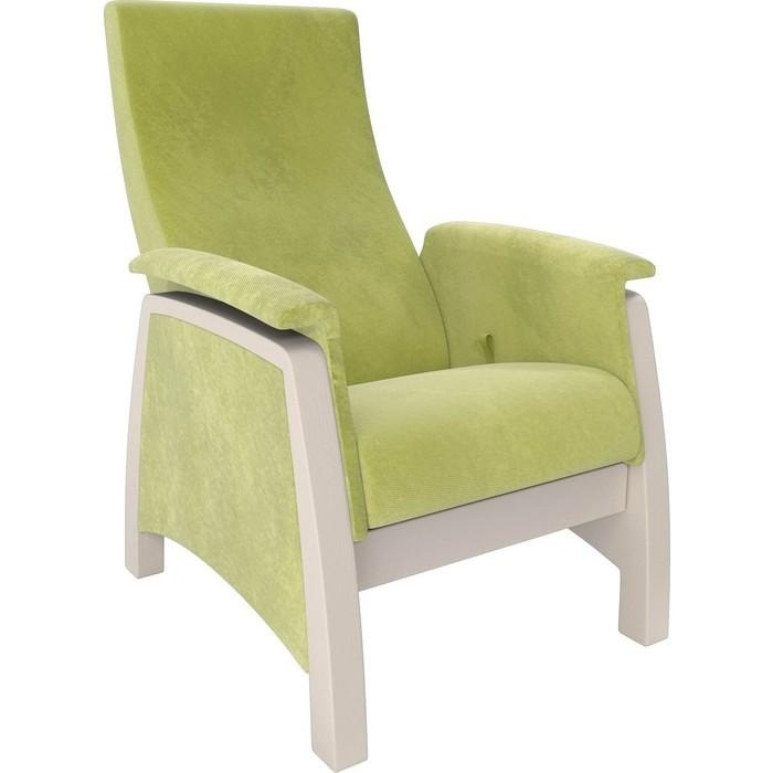 Кресло-глайдер Мебель Импэкс Balance 1 дуб шампань/ Verona apple green кресло глайдер мебель импэкс balance 1 дуб шампань verona vanilla