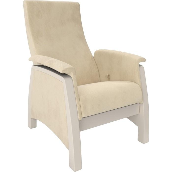 Кресло-глайдер Мебель Импэкс Balance 1 дуб шампань/ Verona vanilla кресло глайдер мебель импэкс balance 1 дуб шампань verona vanilla