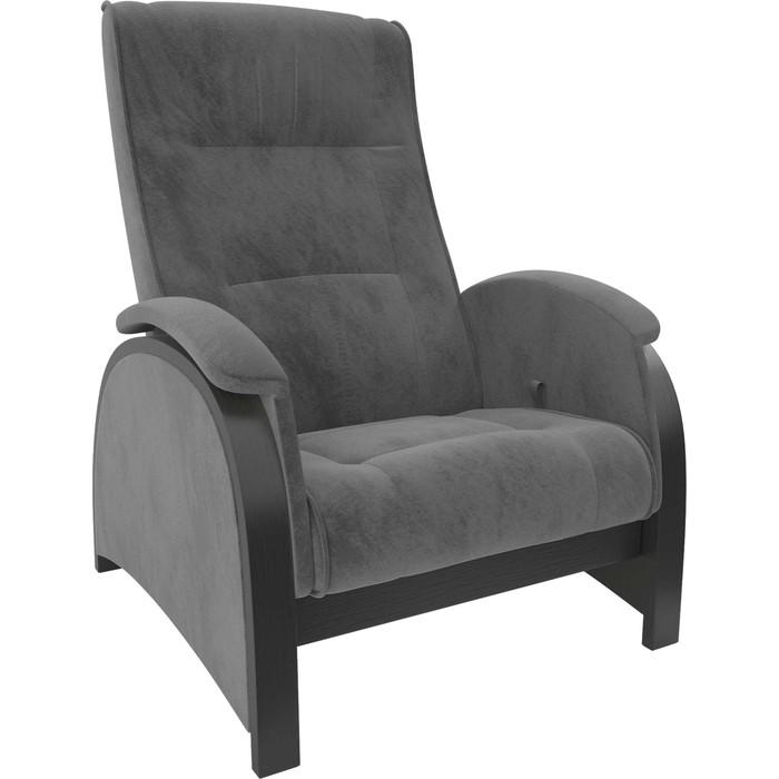 Кресло-глайдер Мебель Импэкс Balance 2 венге/ Verona antrazite grey кресло глайдер мебель импэкс balance 3 натуральное дерево verona antrazite grey