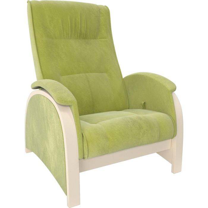Кресло-глайдер Мебель Импэкс Balance 2 дуб шампань/ Verona apple green