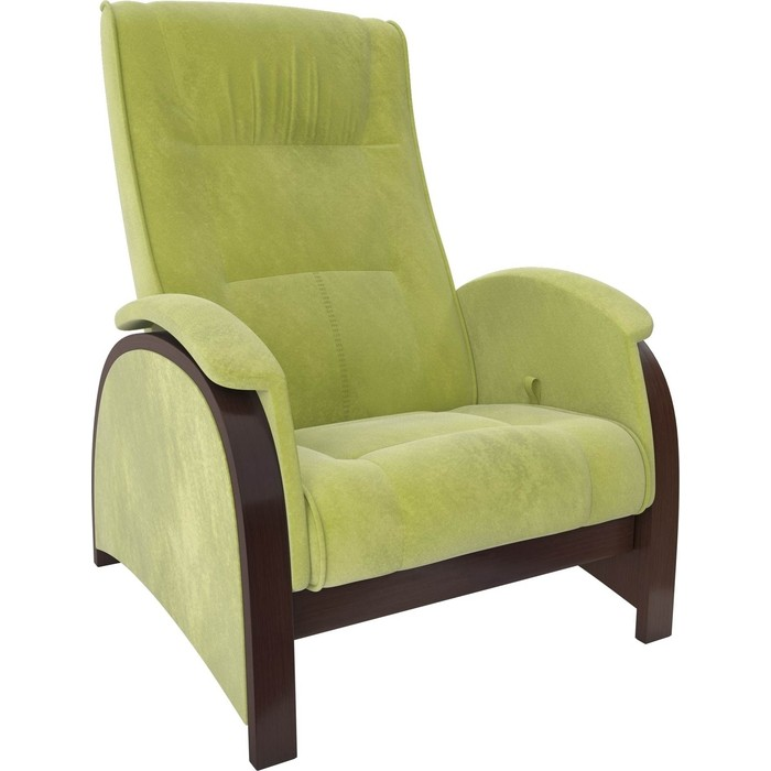 Кресло-глайдер Мебель Импэкс Balance 2 орех/ Verona apple green
