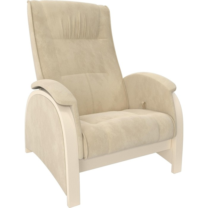 Кресло-глайдер Мебель Импэкс Balance 2 дуб шампань/ Verona vanilla кресло глайдер мебель импэкс balance 1 дуб шампань verona vanilla