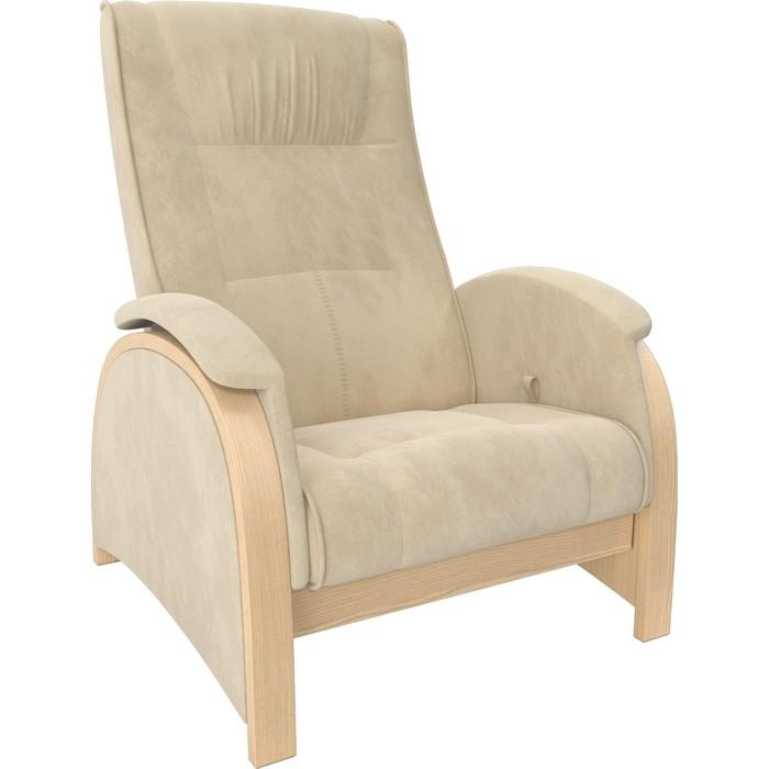 Кресло-глайдер Мебель Импэкс Balance 2 натуральное дерево/ Verona vanilla