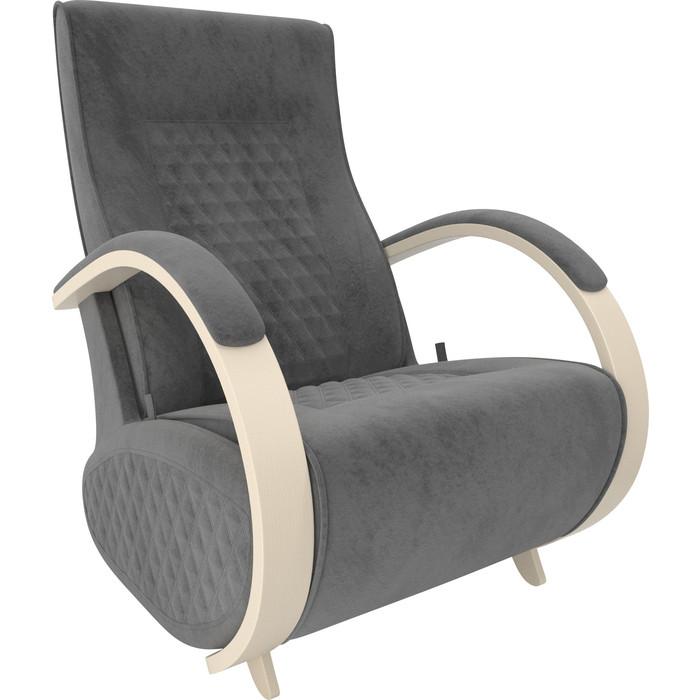 Кресло-глайдер Мебель Импэкс Balance 3 дуб шампань/ Verona antrazite grey кресло глайдер мебель импэкс balance 3 натуральное дерево verona antrazite grey