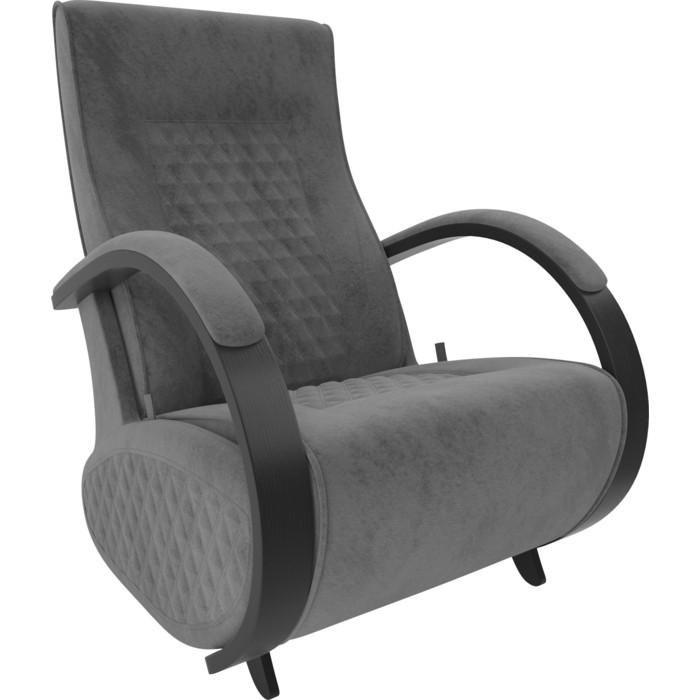 Кресло-глайдер Мебель Импэкс Balance 3 венге/ Verona antrazite grey кресло глайдер мебель импэкс balance 3 натуральное дерево verona antrazite grey