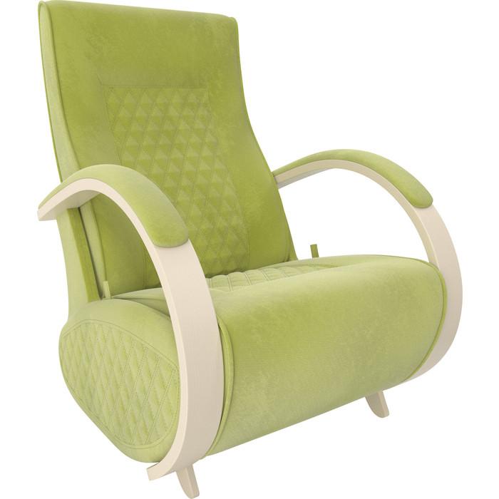Кресло-глайдер Мебель Импэкс Balance 3 дуб шампань/ Verona apple green
