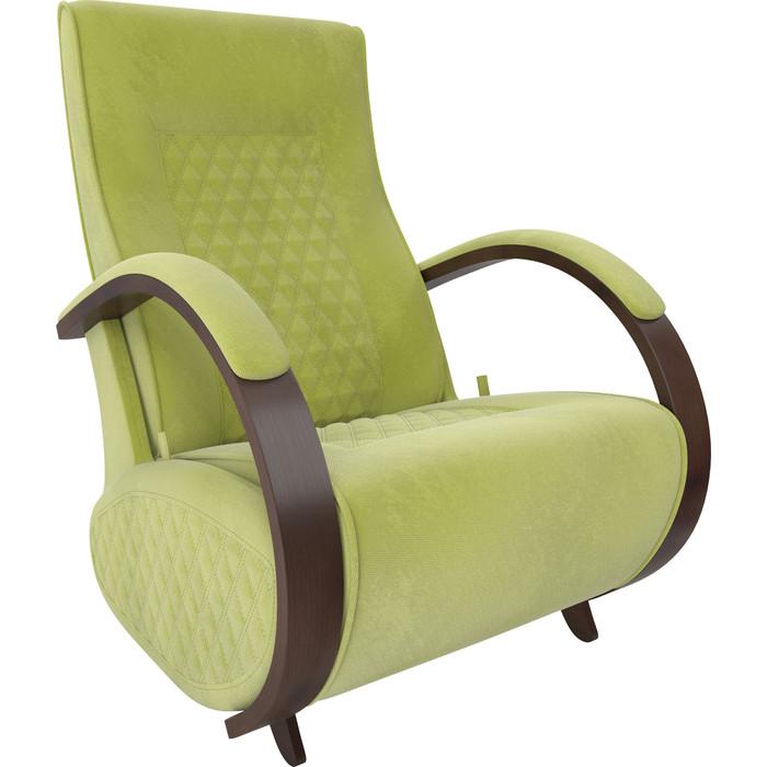 Кресло-глайдер Мебель Импэкс Balance 3 орех/ Verona apple green