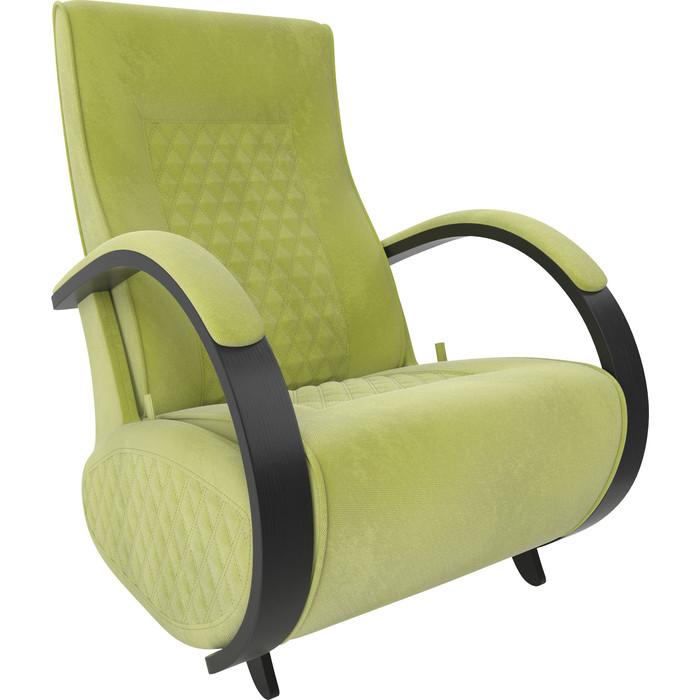 Кресло-глайдер Мебель Импэкс Balance 3 венге/ Verona apple green