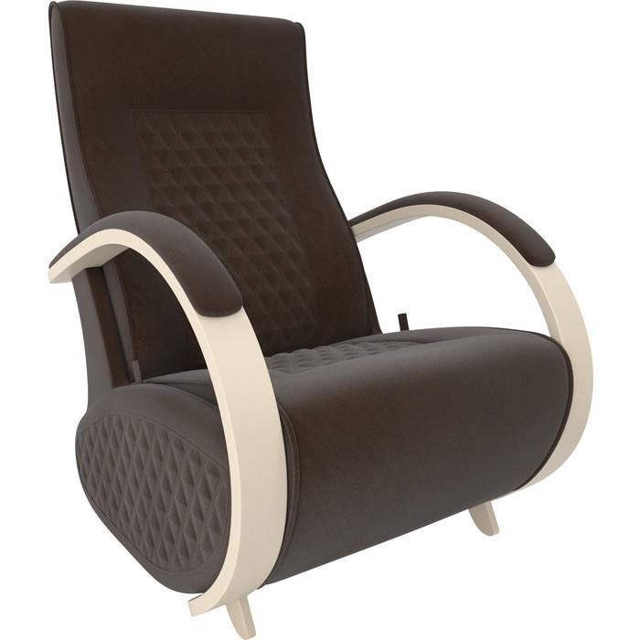 Кресло-глайдер Мебель Импэкс Balance 3 дуб шампань/ Verona brown
