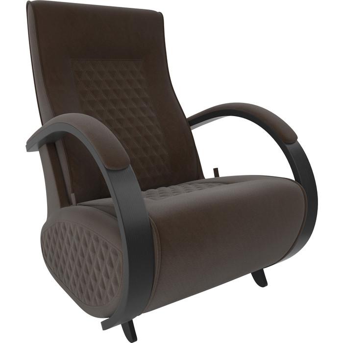 Кресло-глайдер Мебель Импэкс Balance 3 венге/ Verona brown