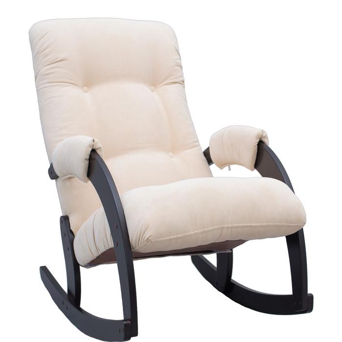 Кресло-качалка Мебель Импэкс Модель 67 венге/ Verona vanilla